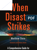 """Make a 72 hour Survival Kit - An Excerpt from """"When Disaster Strikes"""" by Matthew Stein"""