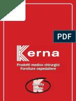 Kerna Italia Catalogo 2012 Catalogo Prodotti Medico Chirurgici