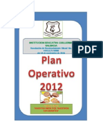 Plan Operativo 2012