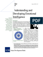 Understanding Developing Emotional Intelligence