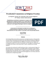 Presidential Commission on Religious Freedom