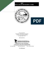 2007 Minnesota State Buidling Code