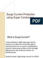 Surge Current Protection Using Super Conductors