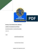 microprocesador 8086 informe