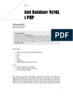 manipulasi database mysql dengan php
