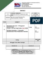 Invoice Kawalan Keselamatan