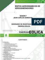 Fundamentos Aerodinamicos de Aerogeneradores