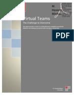 Virtual Teams the Challenge to Overcome
