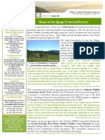 Summer 2011 Landlines Newsletter ~ Land Conservancy of San Luis Obispo County