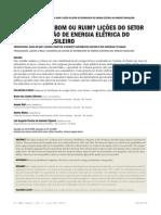 Privatização - Bom ou Ruim - Lições do Setor de Distribuição de Energia Elétrica do Nordeste Brasileiro