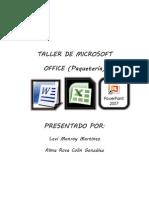Taller de Microsoft Office Paqueteria