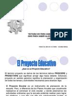 Proyecto Escolar- 4ª Reunión Ctz