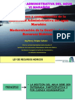FUNCIONES AAA MARAÑON VI Y PMGRH PERCY FEIJOO