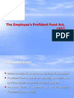 Provident Fund Act
