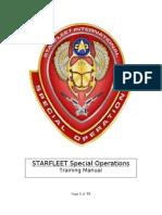 SFSO Training Manual 10-10-11