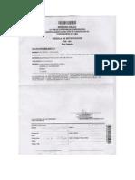 Resolución/Disposición Providencia 12-2011
