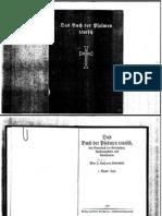 Joerg Lanz Von Liebenfels Das Buch Der Psalmen Teutsch