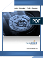 RBI MONETARY POLICY REVIEW Special Report By www.capitalheight.com