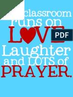 This Classroom PRAYER