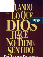 JAMES DOBSON Cuando Lo Que Dios Hace No Tiene Sentido 141pg.