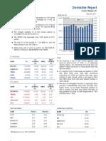 Derivatives Report 20th December 2011
