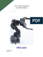 AX Dual Gripper Assembly Manual