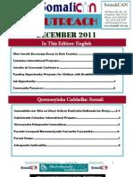 SomaliCAN Outreach Newsletter December 2011