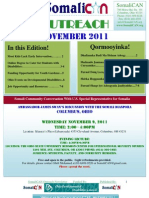 SomaliCAN Outreach Newsletter November 2011
