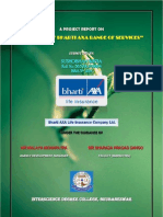 A Project Report on Bharti-AXA Life Insurance Co.