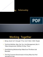 Copy of Working Relationship