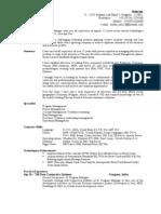 Resume of Mohit Jain Dec 2011