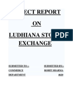 27325999 the Ludhiana Stock Exchange Limited Was Establishe