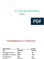 Metabolism in the Fed and Fasting States-2010