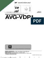 AVGVDP1 Service Manual