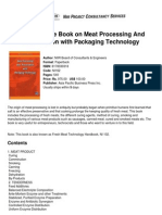 The Complete Book on Meat Processing and Preservation With Packaging Technology