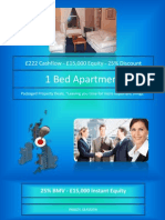1 Bed Apartment - £15,000 Equity and £222 Cashflow - PA1