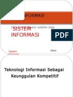 SISTEM INFORMASI-1