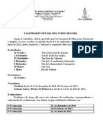 CALENDARIO FESTIVIDADES 11-12 REFORMADO