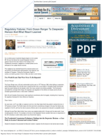 Regulatory Failures_ From Ocean Ranger to Deepwater Horizon and What Wasn't