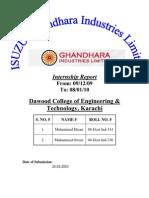 ISUZU Ghandhara Industries Limited