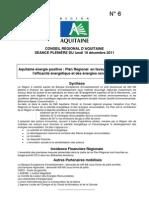 N 6 Aquitaine Energie Positive