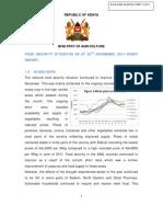 November 2011 Food Security Final Report