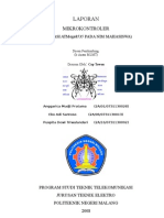 laporan aplikasi nim pada 7 segment