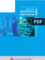 Hand Phone Survey Booklet