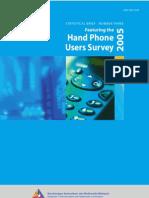 Hand Phone Survey Booklet