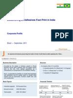 FCC Corporate Profile & India Project - Advance