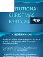 Institutional Christmas Party 2011