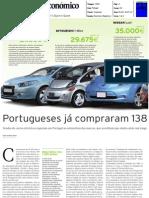 """AUTOMÓVEIS ELÉCTRICOS NO """"DIÁRIO ECONÓMICO"""""""