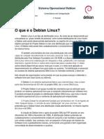 Sistema Operacional Debian- Material Completo
