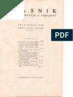 Glasnik Zemaljskog Muzeja 1946./n.s.1